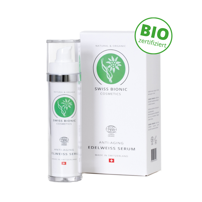 Swiss Bionic Cosmetics Anti-Aging Edelweiß Serum